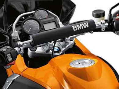 BMW  R1200GS/GSA HANDLEBAR PADDING Black and White - 46 63 7 706 632/633 - BMWSuperShop.com