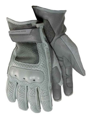 BMW Unisex Airflow Gloves, Grey - BMWSuperShop.com