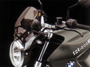 Bmw R1200R Tinted Sport Windshield - 71 60 7 704 107/77 33 7 714 419 - BMWSuperShop.com