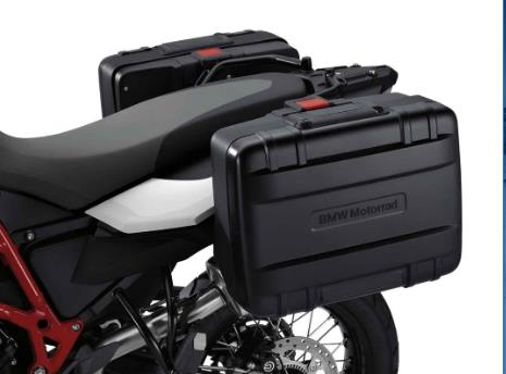 BMW F650GS, F700GS and F800GS Vario Case, Left - 71 60 7 696 299 - BMWSuperShop.com