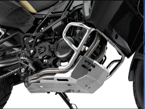 BMW F650GS, F700GS, F800GS and F800GS Adventure Aluminum Enduro Engine Guard - 71 60 7 702 951 - BMWSuperShop.com