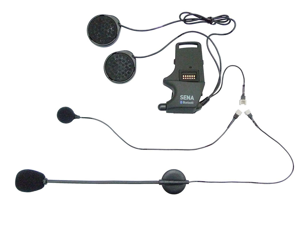 Sena Helmet Clamp Kit Attachable Boom Microphone & Wired Microphone - 84301066 - BMWSuperShop.com