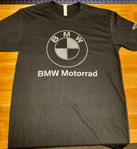 BMW Customized Hermy's Roundel Logo T-Shirt, Black - BMWSuperShop.com