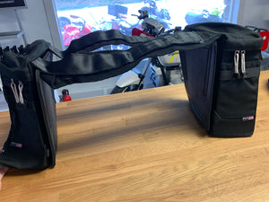 Used Aerostich Tank Panniers, Saddlebags