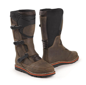 BMW Unisex Venture Grip Boots, Brown - BMWSuperShop.com
