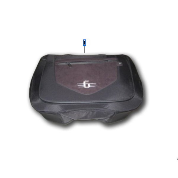 BMW K1600GTL Inner Bag, Touring Top Case  - 46 54 8 549 364 - BMWSuperShop.com