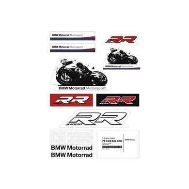 Genuine BMW Motorsport Sticker Set - 76 73 8 532 563 - BMWSuperShop.com