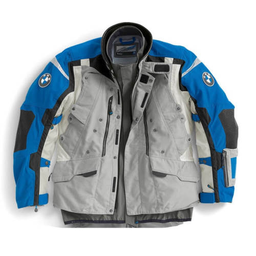 BMW Rallye Jacket, Grey and Blue - BMWSuperShop.com
