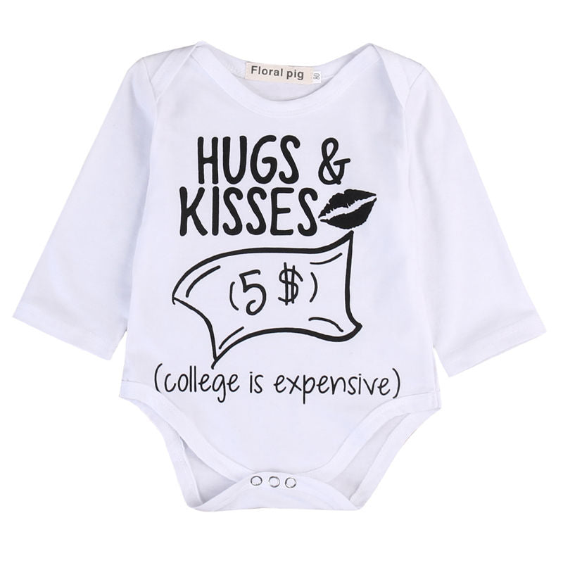 'College Is Expensive' Newborn Funny Print Bodysuit