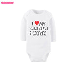 Grandparents Newborn Print Bodysuit