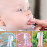 Baby Teething Finger Soft Silicone Infant Tooth Brush