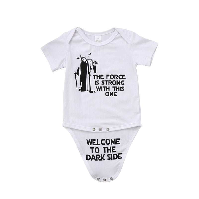 Star Wars Reference Newborn Funny Print Bodysuit