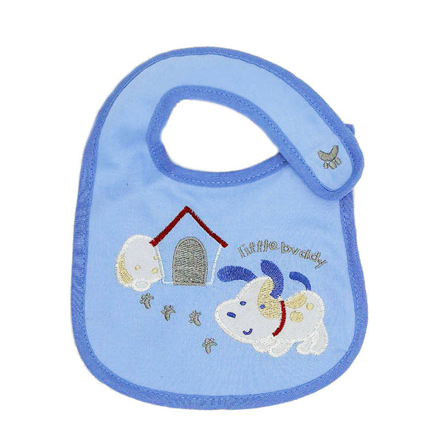 1pcs Baby Bibs 100% Cotton High Quality Saliva Towels