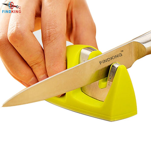 Two Stages (Diamond & Ceramic) Kitchen Best Knife Sharpener - WowmeZone