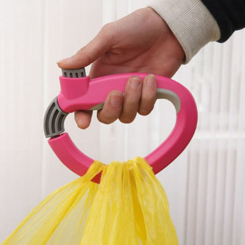 POP Trip Grips Shopping Grocery Bag Holders Handle Carrier Lock Labor Save Tool - WowmeZone
