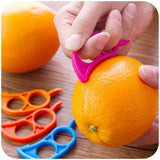 4Pcs Creative Orange Peelers Zesters Lemon Slicer Fruit Stripper - WowmeZone