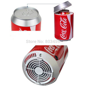 mini usb fridge cooler Heater cool refrigerator Dual use home dormitory DC 5V 12V car office refrigerator computer wine cooler - WowmeZone