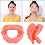 Silicone Rubber Face Slimmer Exercise Mouth Piece Muscle Anti Wrinkle Lip Trainer Mouth Massager Exerciser Mouthpiece Face Care - WowmeZone