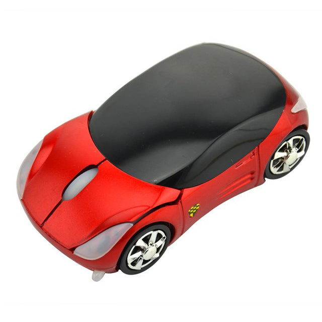 Wireless Mouse Computer Mice Fashion Super Car Shaped Game Mice 2 4Ghz  Optical Mouse for PC QJY99