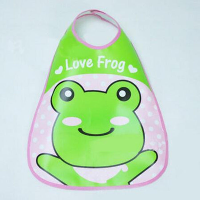 Adjustable Baby Bandana Bibs EVA Plastic Waterproof Lunch Bibs Infants Cartoon Bibs Baberos For Children Feeding Care - WowmeZone