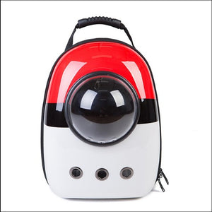 Pokemon Cat Dog Space Capsule Pet Cat Dog Backpack Window for Kitty Puppy Small Cat Dog Carrier transport Outdoor Travel Bag - WowmeZone