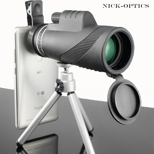 Monocular 40x60 Powerful Binoculars High Quality Zoom Great Handheld Telescope lll night vision Military HD Professional Hunting - WowmeZone