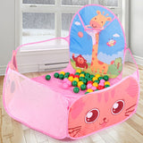 Portable Baby Playpen Children Outdoor Indoor Ball Pool Play Tent Kids Safe Foldable Playpens Game Pool of Balls for Kids Gifts - WowmeZone