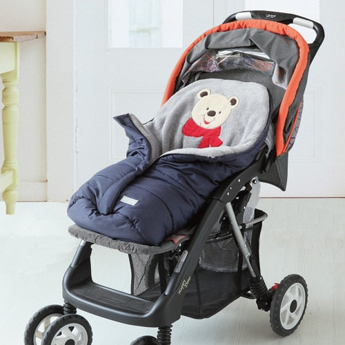Autumn Winter Warm Baby Sleeping Bag Sleepsack For Stroller,Soft Sleeping bag for baby,Baby slaapzak,sac couchage naissance - WowmeZone