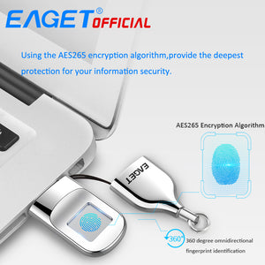 Latest Fingerprint Encryption USB Pendrive- 32GB/64 GB - WowmeZone