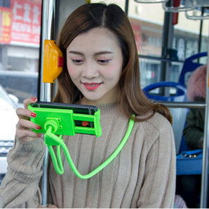 Lazy Bracket Universal 360 Degree Rotation Flexible Phone Selfie Holder Snake-like Neck Bed Mount Anti-skid For Phone 7 color - WowmeZone