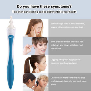 16 Tips Smart Ear Cleaner Earpick Swab Easy Earwax Removal Soft Spiral Cleaner Prevent Ear-pick Clean Tools Ear Care Kit - WowmeZone