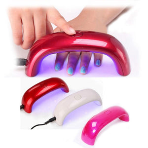UV lamp Mini USB 9W Nail Dryer-Rainbow Shape - WowmeZone