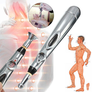 Latest Electronic Laser Acupuncture Pen-Machine Magnet Therapy Meridian Energy - WowmeZone