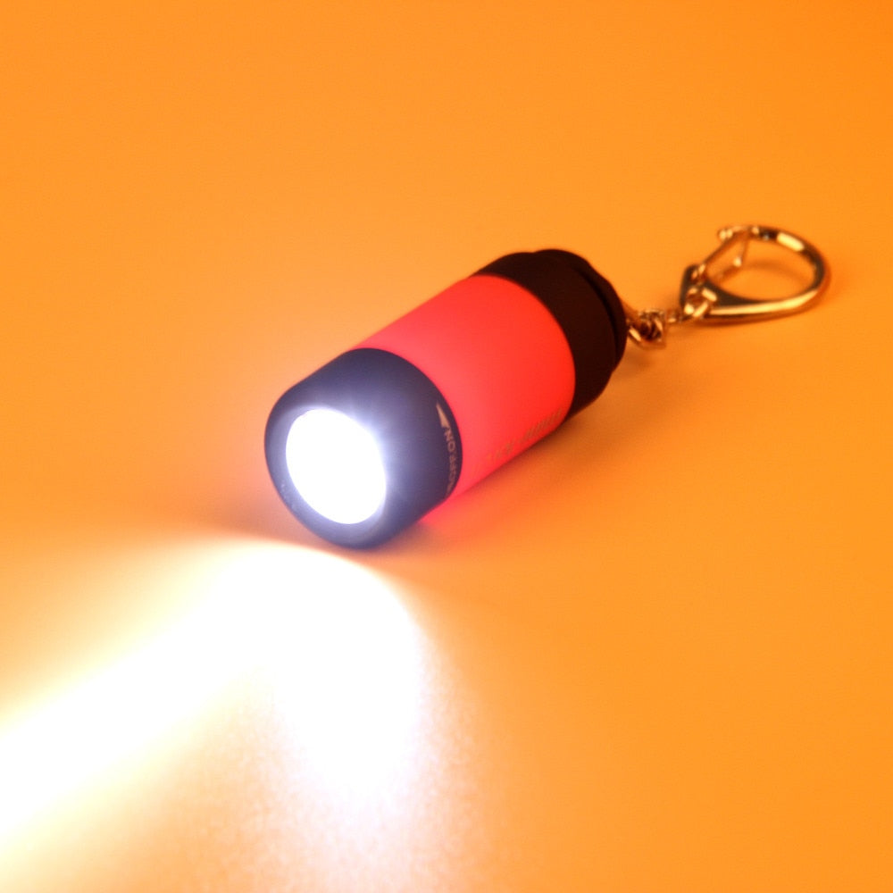 Mini Torch Penlight 0.3W 25Lum USB Rechargeable LED Torch Lamp Outdoor Camping Lighting 2018 USB Rechargeable LED Torch Lamp - WowmeZone