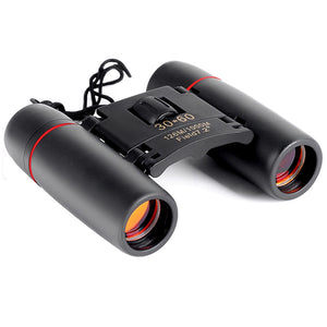Zoom Telescope 30x60 Folding Binoculars with Low Light Night Vision for outdoor bird watching travelling hunting camping 2018 - WowmeZone