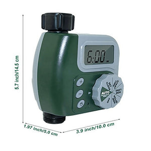 Garden Automatic Watering Timer Electronic Water Timer Home Garden Irrigation System Timer Autoplay irrigator controller - WowmeZone