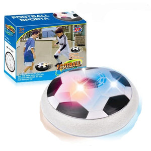 Air Power soccer with  LED Light Flashing Multi-surface Hovering - WowmeZone