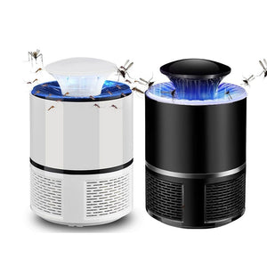 USB Electronics Mosquito Killer Trap Moth Fly Wasp LED Night Light Lamp Bug Insect Lights Killing Pest Zapper Repeller 110V/220V - WowmeZone