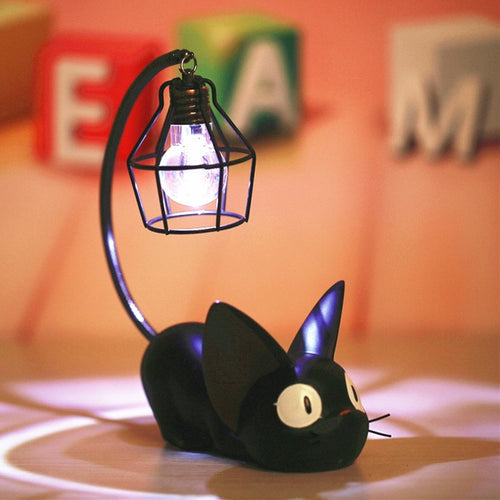 Magic Cartoon Cat Animal Night Light Luminaria LED Night Lamp Baby Nursery Table Lamp For Baby Kid Birthday Gift Home Decoration - WowmeZone
