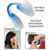 UTouch Point Body Massager Eye Care Tool Low Frequency Neck Pain Relax Eye Massager Mini Electric Handled Vibrating Stroker - WowmeZone
