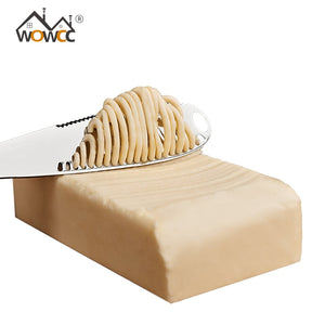 Stainless Steel Butter Knife Cheese Dessert Jam Spreaders Cream Knifes Utensil Cutlery Dessert Tools for Toast Breakfast Tool - WowmeZone