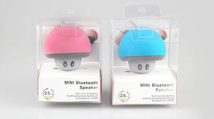 New Mini Speaker Bluetooth Mushroom Shape Loudspeaker Super Bass Stereo Subwoofer Music Player For iPhone Mobile Phone - WowmeZone