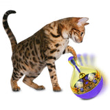 Cat Feeders Food Ball Pet Interactive Toy Tumbler Egg Smarter Cat Playing Toys Treat Ball Shaking for Dogs Increases IQ 6c4 - WowmeZone