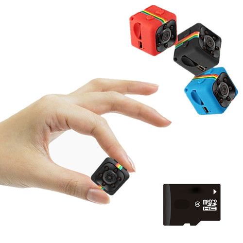 World Smallest HD  mini Camera cam 1080P video Sensor Night Vision Camcorder Micro Cameras DVR DV Motion Recorder Camcorder SQ 11 dvr - WowmeZone