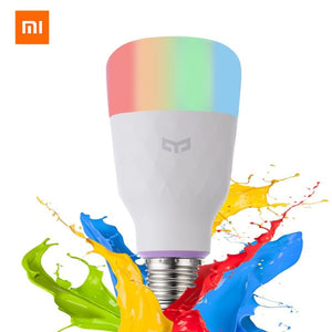 [ English Version ] Xiaomi Yeelight Smart LED Bulb Colorful 800 Lumens 10W E27 Lemon Smart Lamp For Mi Home App White/RGB Option - WowmeZone