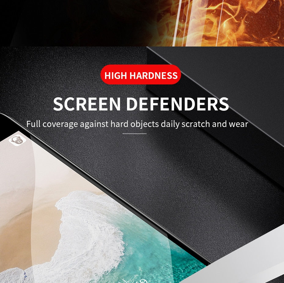 H&A Full Cover 6D Edge Tempered Glass For iPhone X 7 8 6 6s Plus Screen Protector For iPhone 10 6 6s 7Plus Film Protection - WowmeZone
