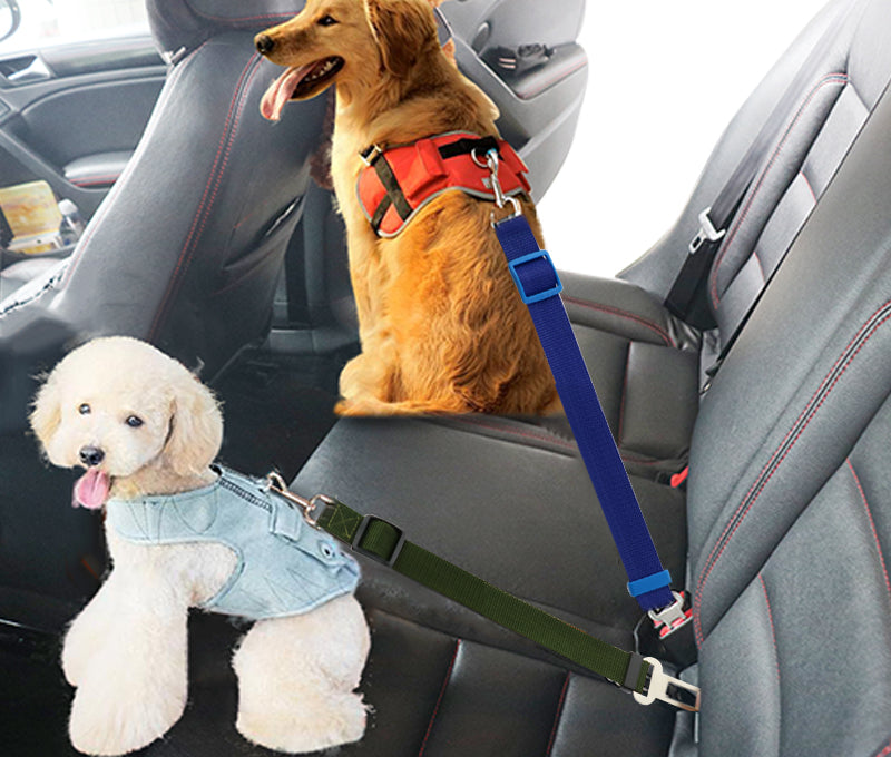 Dog Seat Belt Harness >> Dog Collars Leads Vehicle Car Dog Seat Belt Pet Dogs Car Seatbelt Harness Lead Clip Safety Lever Auto Traction Products 45