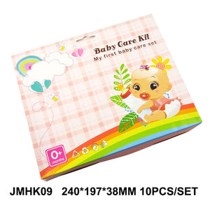 10Pcs/Set Baby Health Care Set Portable Newborn Baby Tool Kits Kids Grooming Kit Safety Cutter Nail Care Set for Baby Children - WowmeZone