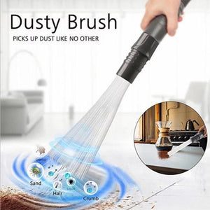 Dust Cleaner Household Straw Tubes Dust Brush Remover Portable Universal Vacuum Tools Attachment Dirt Clean - WowmeZone