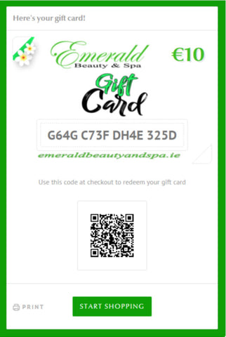 Emerald Beauty & Spa Gift Card